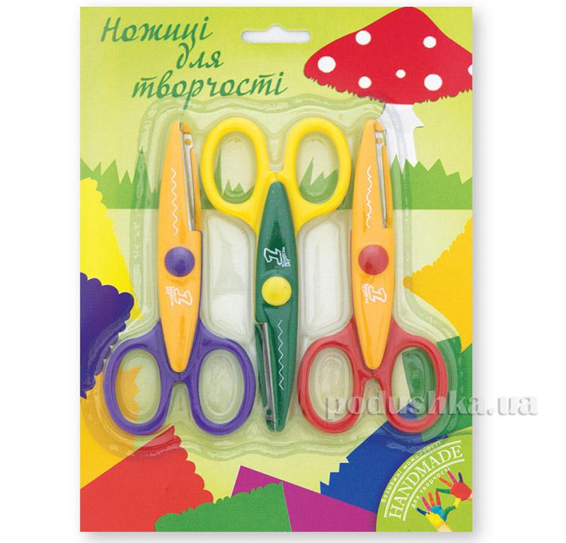 Ножницы для творчества в наборе 13 см 1 Вересня 1-480133