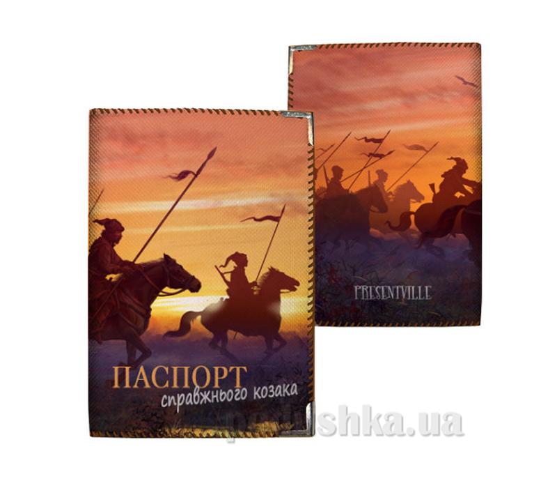 Обложка для паспорта Город Подарков 11336 PD UKR013 BR