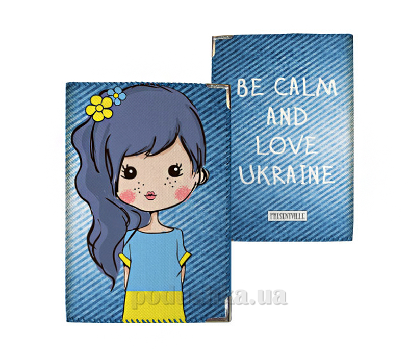 Обложка для паспорта Город Подарков 31018 PD UKR088 SI