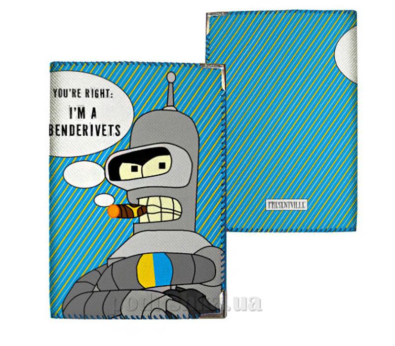 Обложка для паспорта Город Подарков 31023 PD UKR093 SI