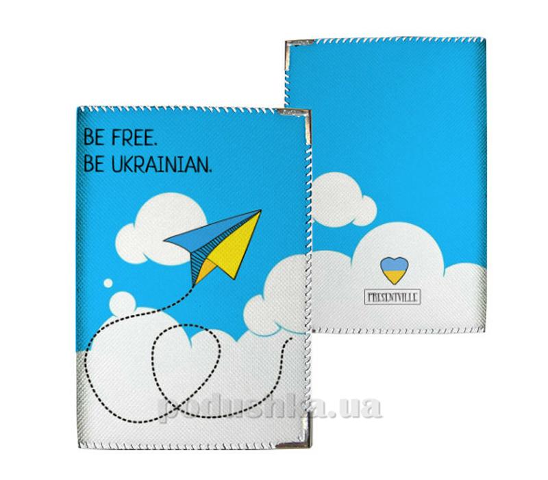Обложка для паспорта Город Подарков 31038 PD UKR108 WH