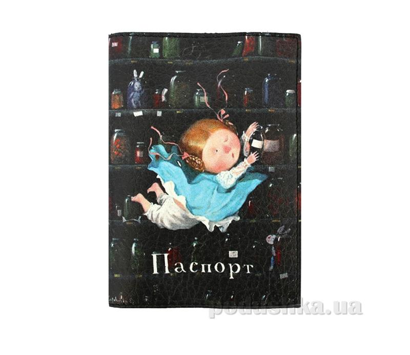 Обложка из эко-кожи Valex Алиса в Стране чудес Репродукция P-89