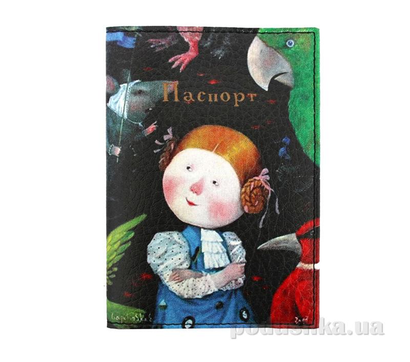 Обложка из эко-кожи Valex Алиса в Стране чудес Репродукция P-94