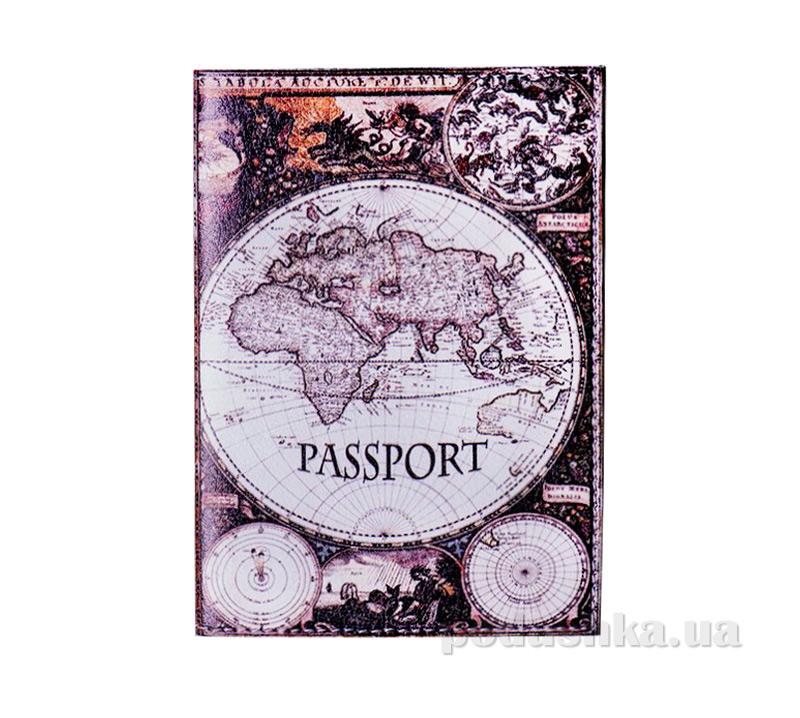 Обложка из эко-кожи Valex Карта мира