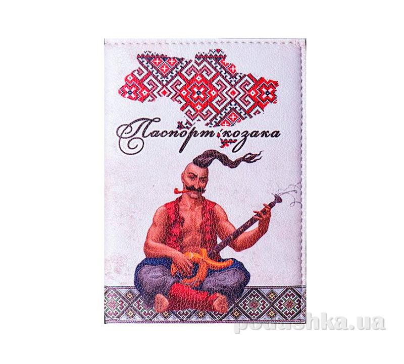 Обложка из эко-кожи Valex Паспорт казака