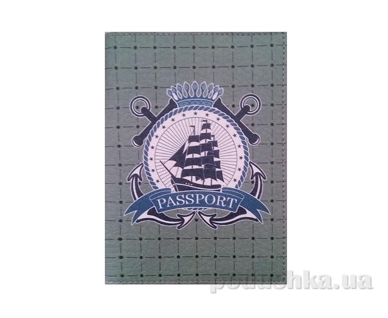 Обложка из эко-кожи Valex Паспорт моряка P-69