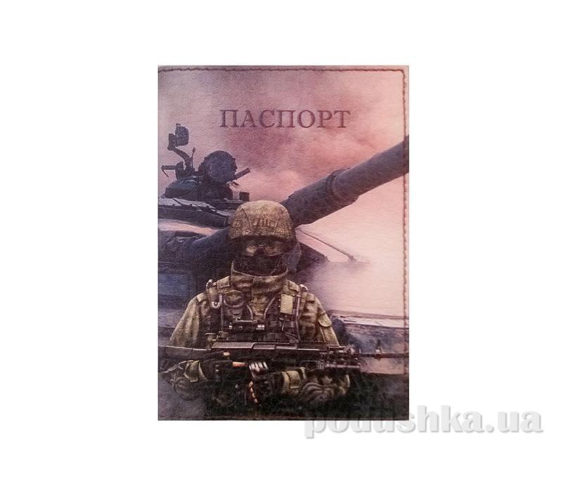 Обложка из эко-кожи Valex Паспорт солдата P-52