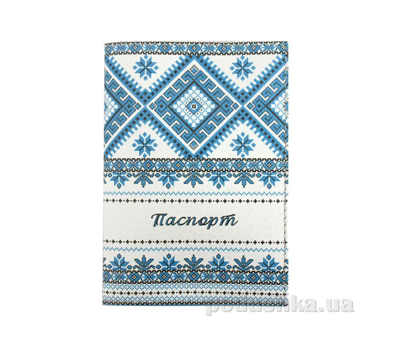 Обложка из эко-кожи Valex Украинский орнамент P-97