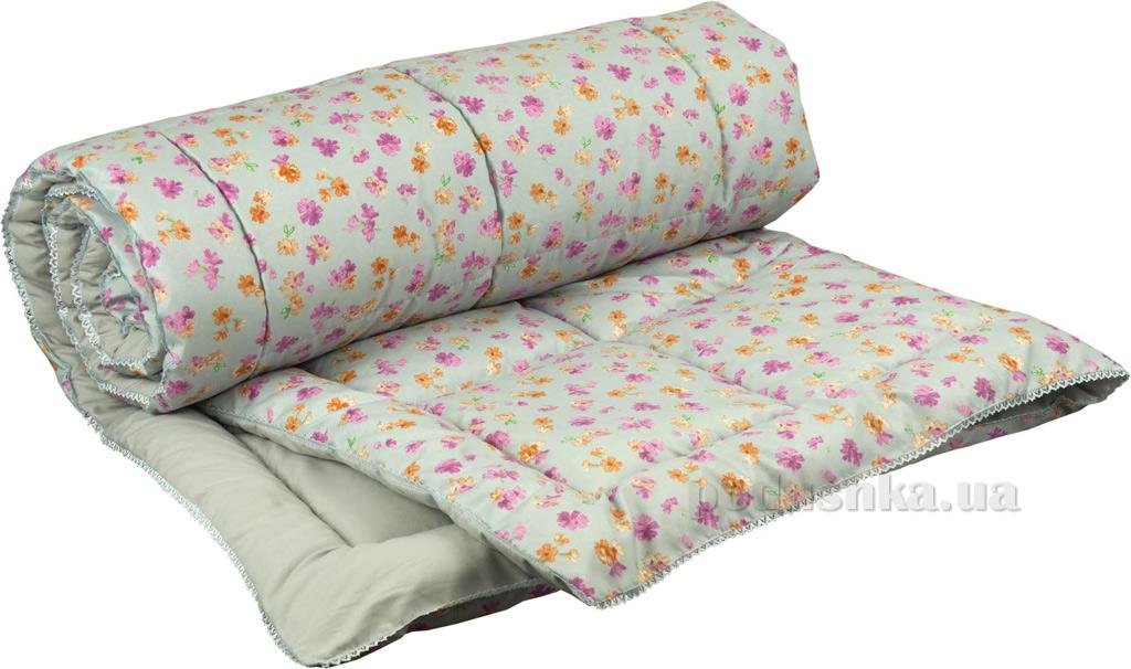 Одеяло антиаллергенное с кружевом Руно Кантри