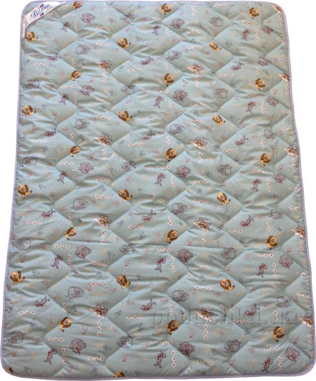 Одеяло детское демисезонное Билана Малыш шерстяное