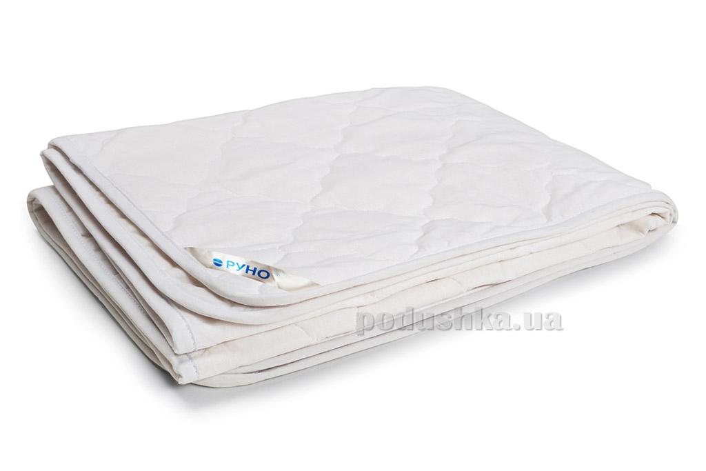 Одеяло детское хлопковое Руно Мишки белое