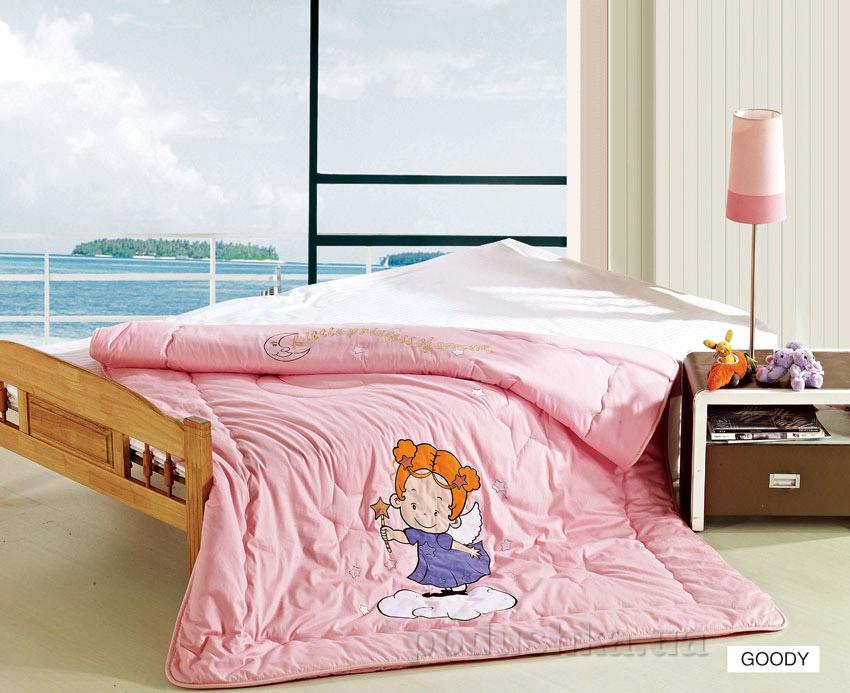 Одеяло детское с вышивкой Arya Goody