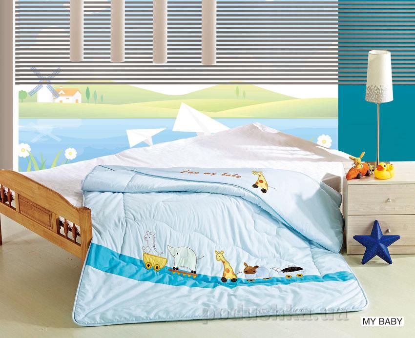 Одеяло детское с вышивкой Arya My baby