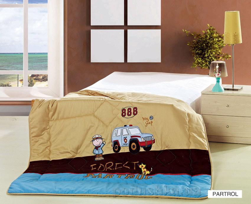 Одеяло детское с вышивкой Arya Patrol