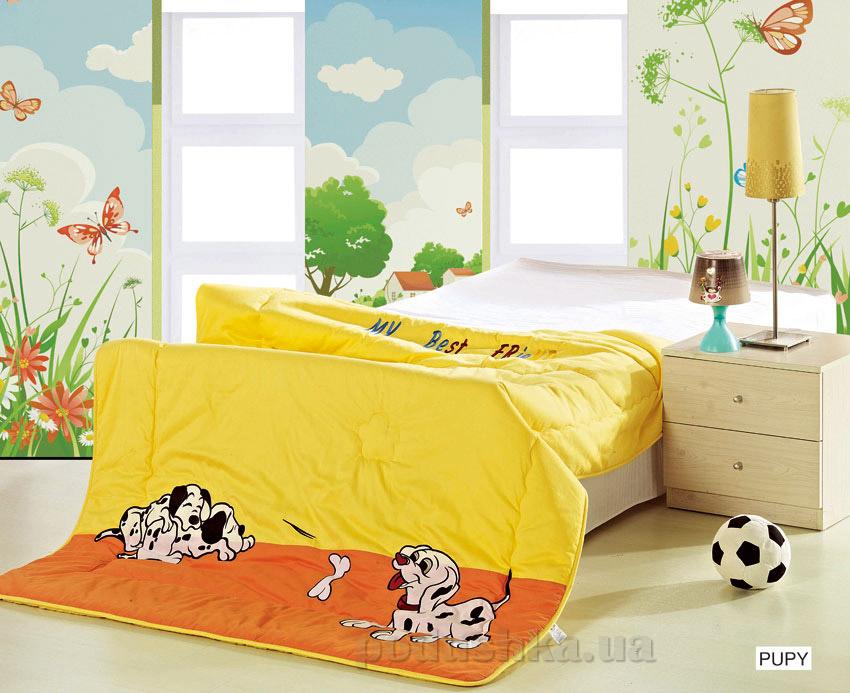 Одеяло детское с вышивкой Arya Puppy