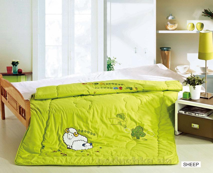 Одеяло детское с вышивкой Arya Sheep