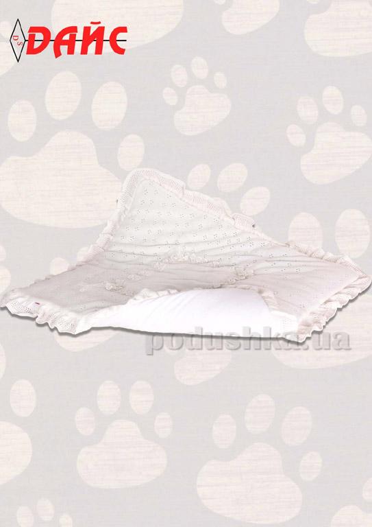Одеяло детское вязаное Дайс 001103