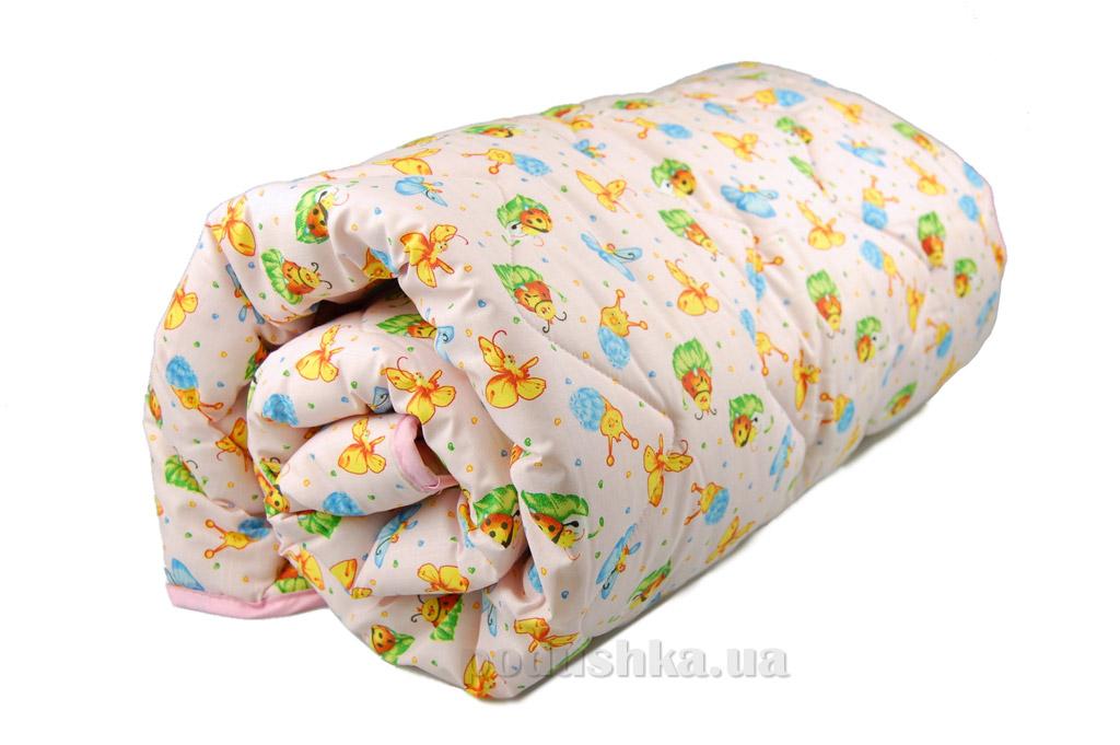 Одеяло детское зимнее силиконовое Home Line