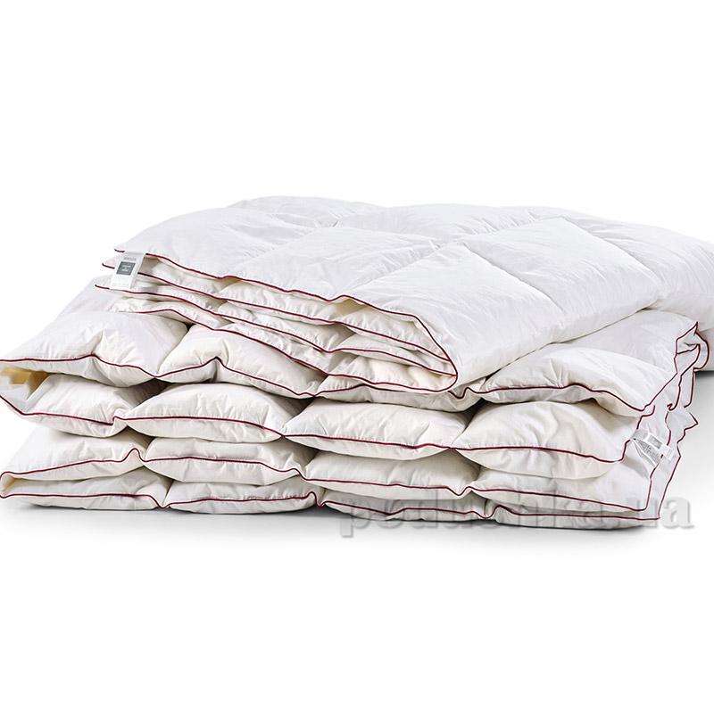 Одеяло для детей пуховое кассетное Зима MirSon DeLuxe белый пух 100 % ДеЛюкс 030 зимнее 110х140 см вес 490 г. MirSon