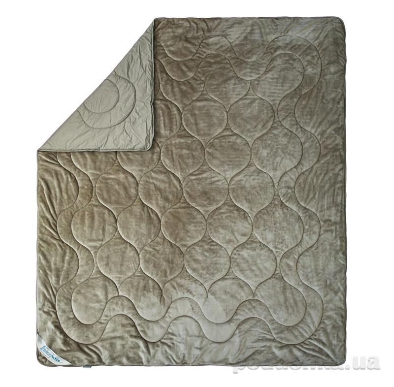 Одеяло двухстороннее махровое Cute SoundSleep светло-серое