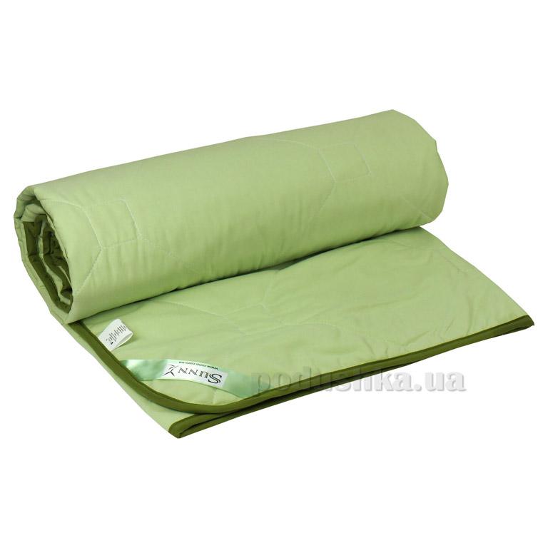 Одеяло летнее Руно Sunny бамбуковое в микрофибре с кантом