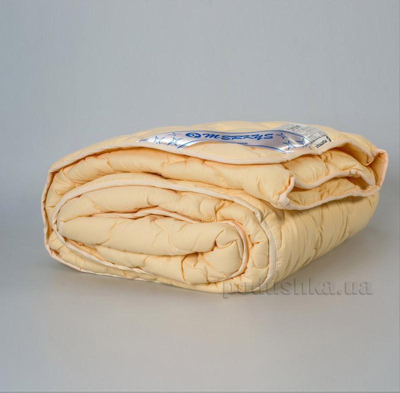 Одеяло Мerkys стёганное микрофибра бежевое