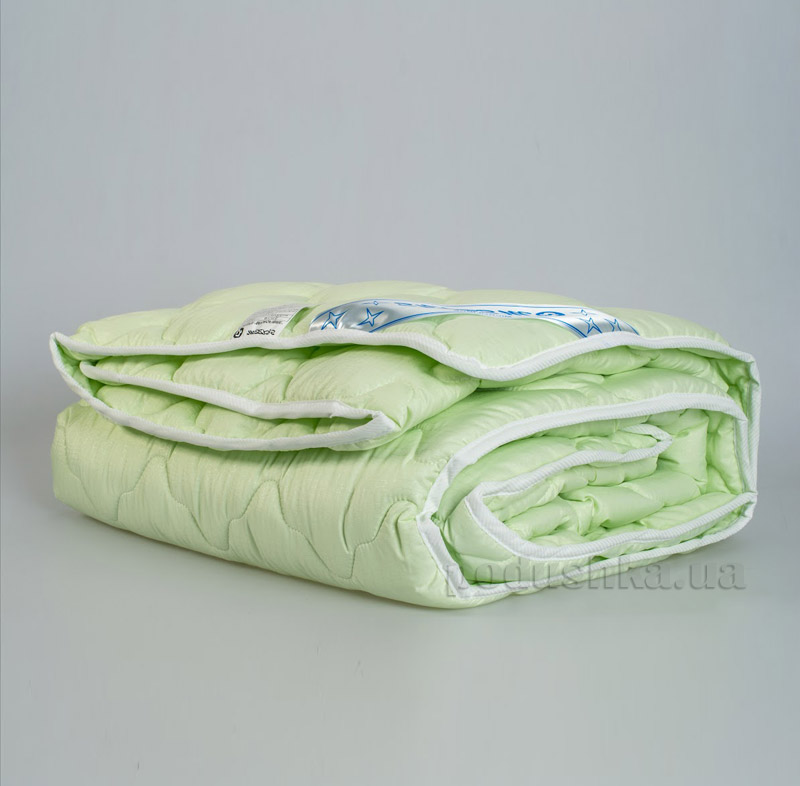 Одеяло Мяркис стёганное микрофибра зеленое