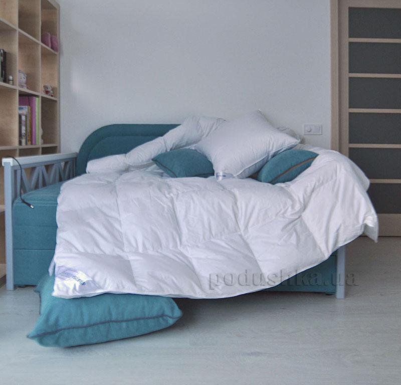 Одеяло пуховое кассетное SoundSleep Air белое