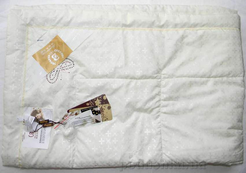 Одеяло шелковое Goldentex 447 молочное