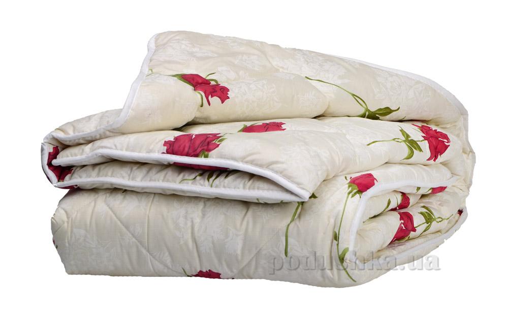 Одеяло Шерстяное ТМ Міцний сон Роза