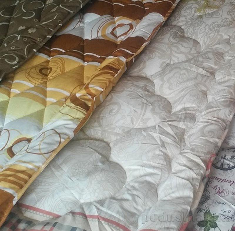 Одеяло шерстяное стеганое Lotus Colour Wool