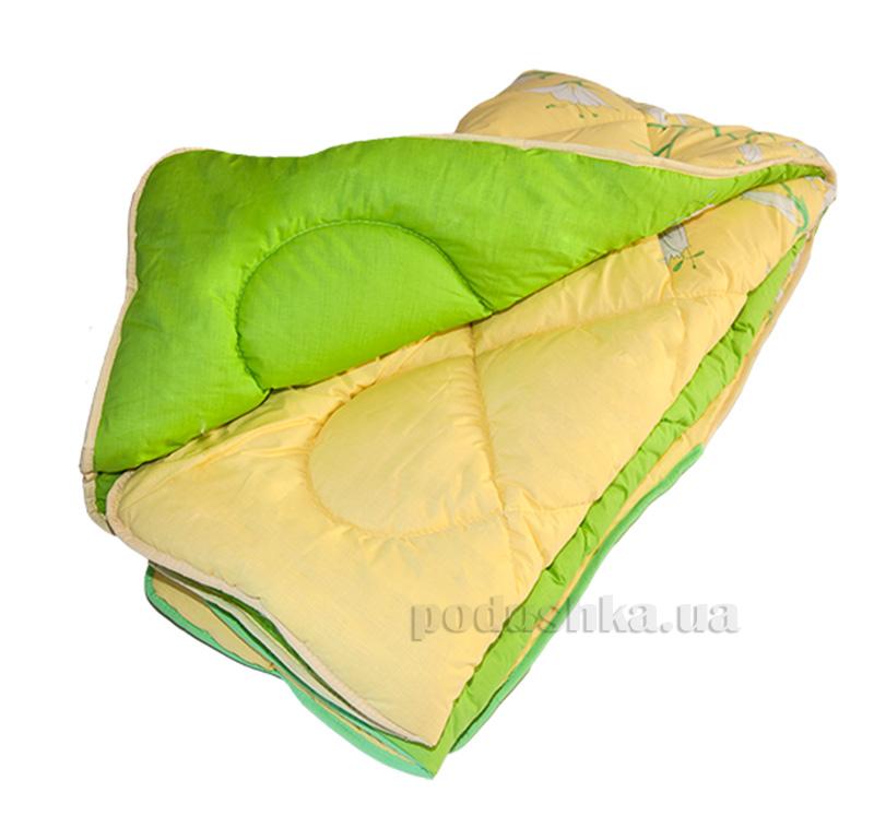 Одеяло шерстяное ТЕП 658 Линия сине-зеленая