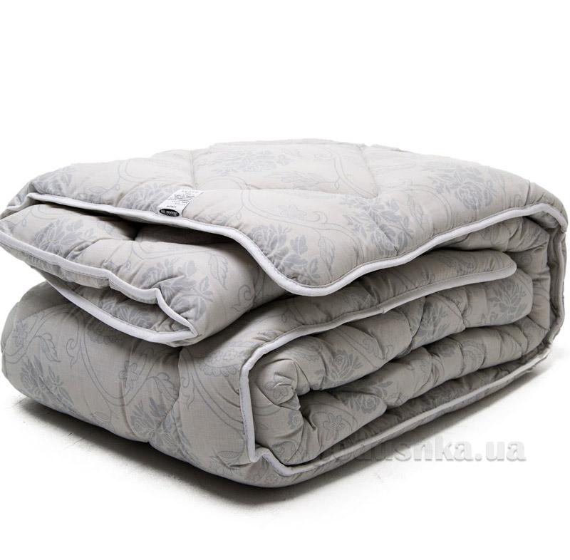 Одеяло шерстяное ТМ Мiцний сон ПСБ-11 серое
