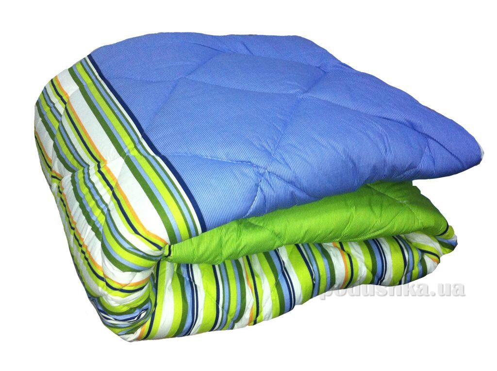 Одеяло ТЕП холлофайбер 523 Линия сине-зеленая