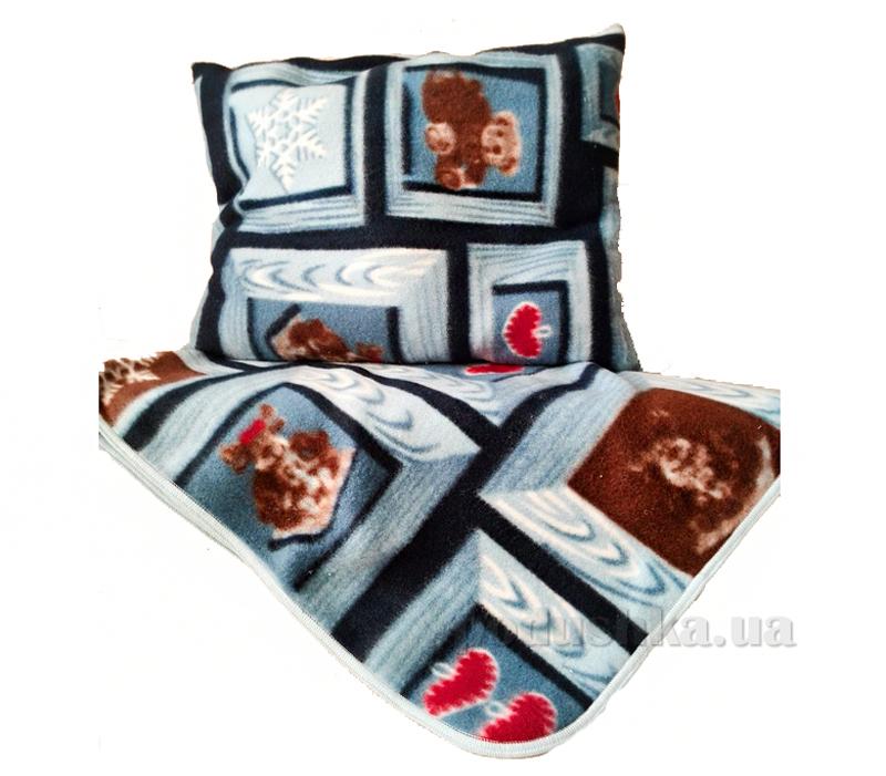 Одеяло в комплекте с подушкой Белый аист ВА7002