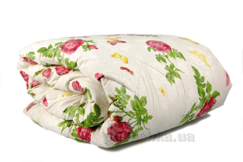 Одеяло зимнее из овечьей шерсти Home line Бабочка