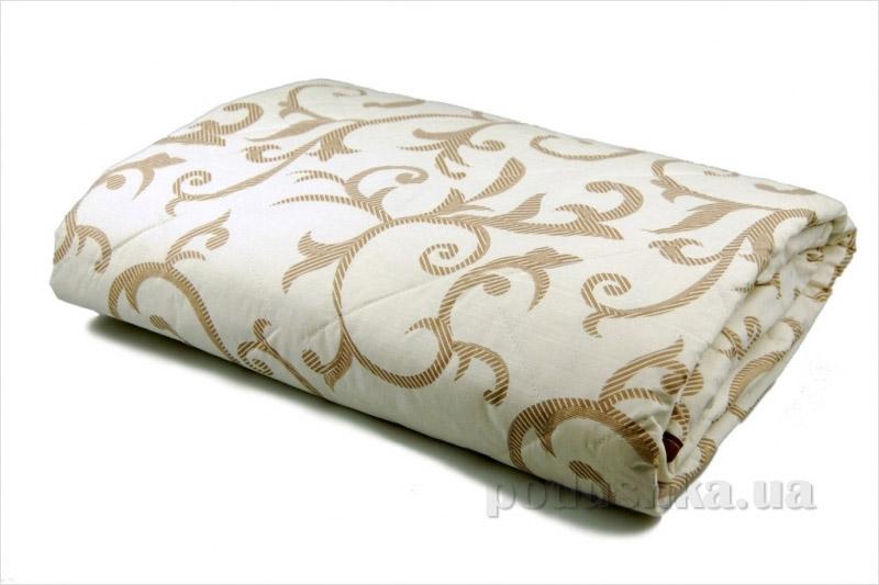 Одеяло зимнее из овечьей шерсти Home line Вензель кремовое