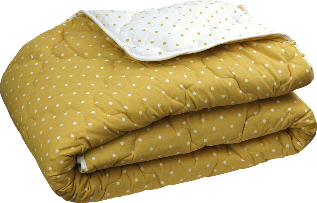 Одеяло зимнее шерстяное Руно в бязи коричневое