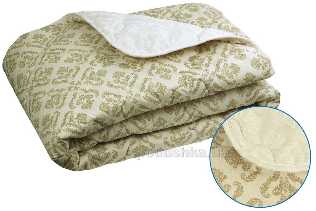 Одеяло зимнее шерстяное в бязи Руно Комфорт-плюс Орнамент 172х205 см  Руно