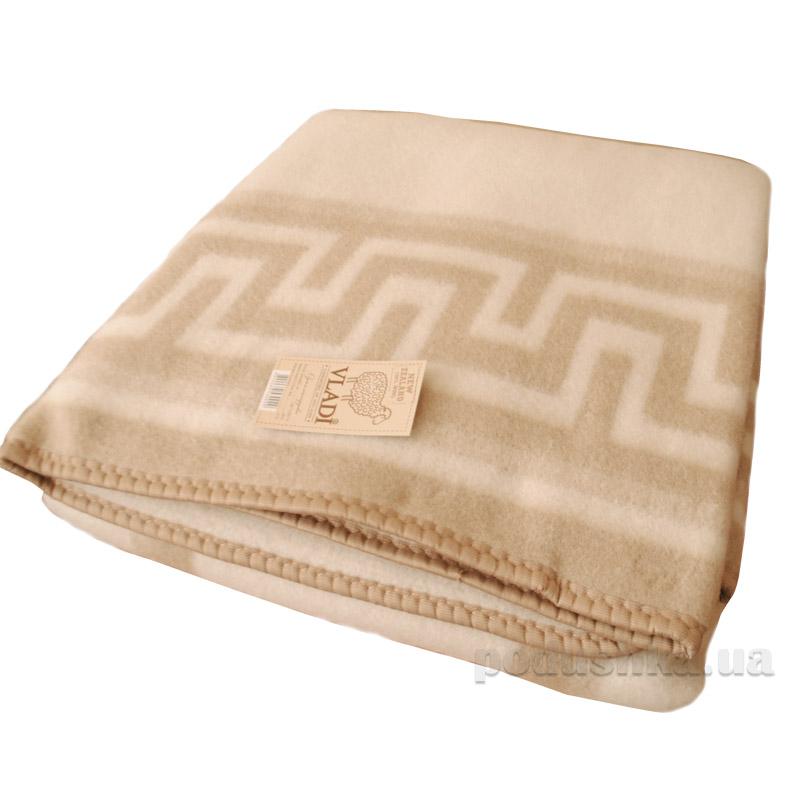 Одеяло-плед Vladi Греция шерстяной