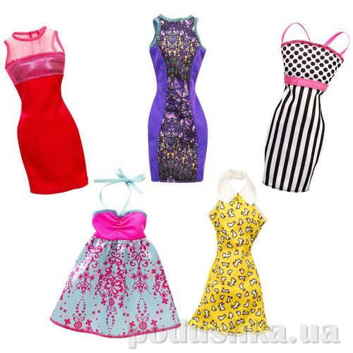 Одежда для Барби Mattel Модное платье