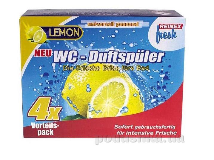 Освежитель для унитаза навесной Reinex fresh WC-Spuler Лимон