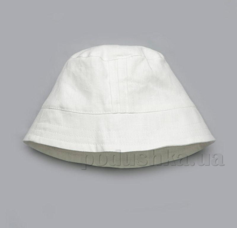 Панама для мальчика Модный карапуз 03-00504 лен белый