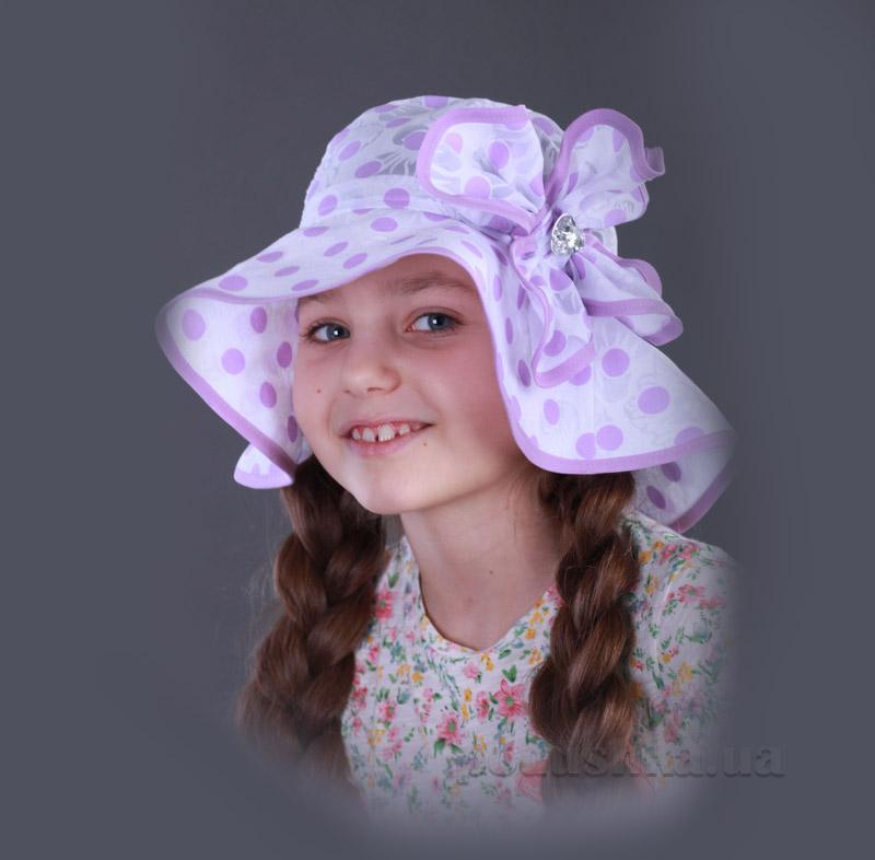 Панамка для девочки Бабасик Соломия лиловая