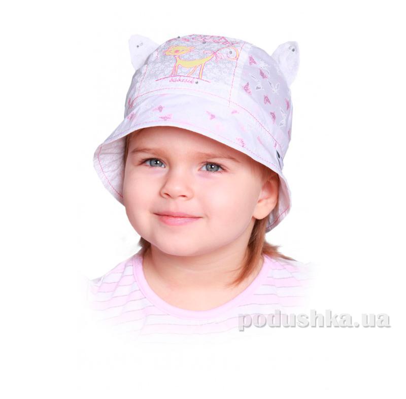 Панамка летняя для ребенка Мурка Бабасик лиловая