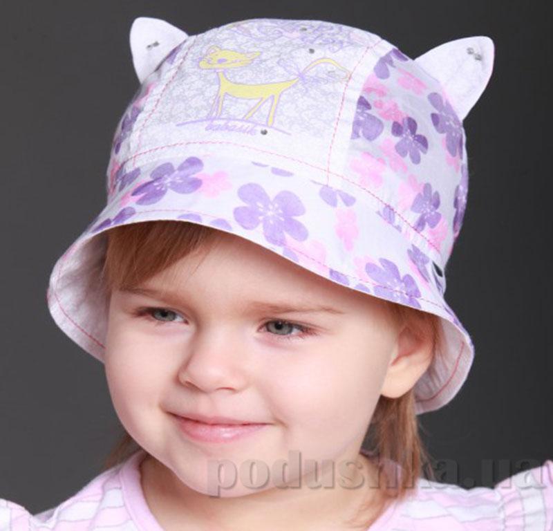 Панамка летняя для ребенка Мурка Бабасик сиреневая