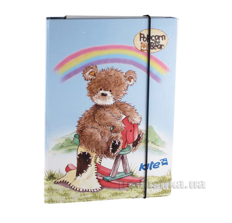 Папка для тетрадей Kite Popcorn Bear PO13-210K