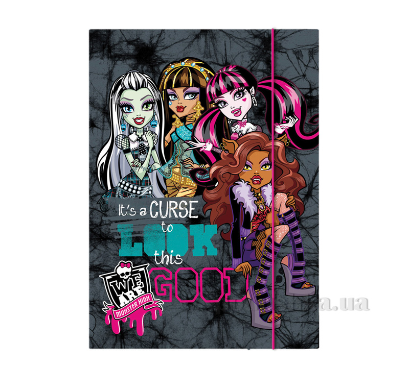 Папка для тетрадей Kite Monster High MH15-210K