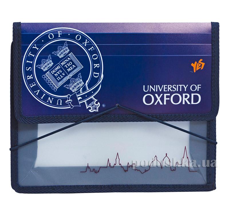 Папка для тетрадей на резинке  В5 Оксфорд 1 Вересня 1-491031