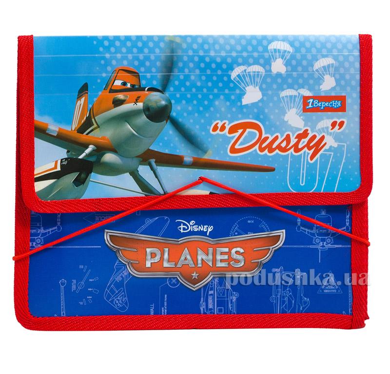 Папка для тетрадей на резинке  В5 Самолетики 1 Вересня 1-491029